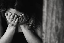 Vrouw met PTSS