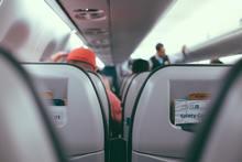 vliegtuig door de ogen van iemand die vliegangst heeft