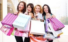 vrouwen die consuminderen