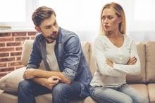 Man en vrouw die relatieproblemen hebben