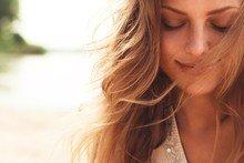 vrouw doet aan mindfulness