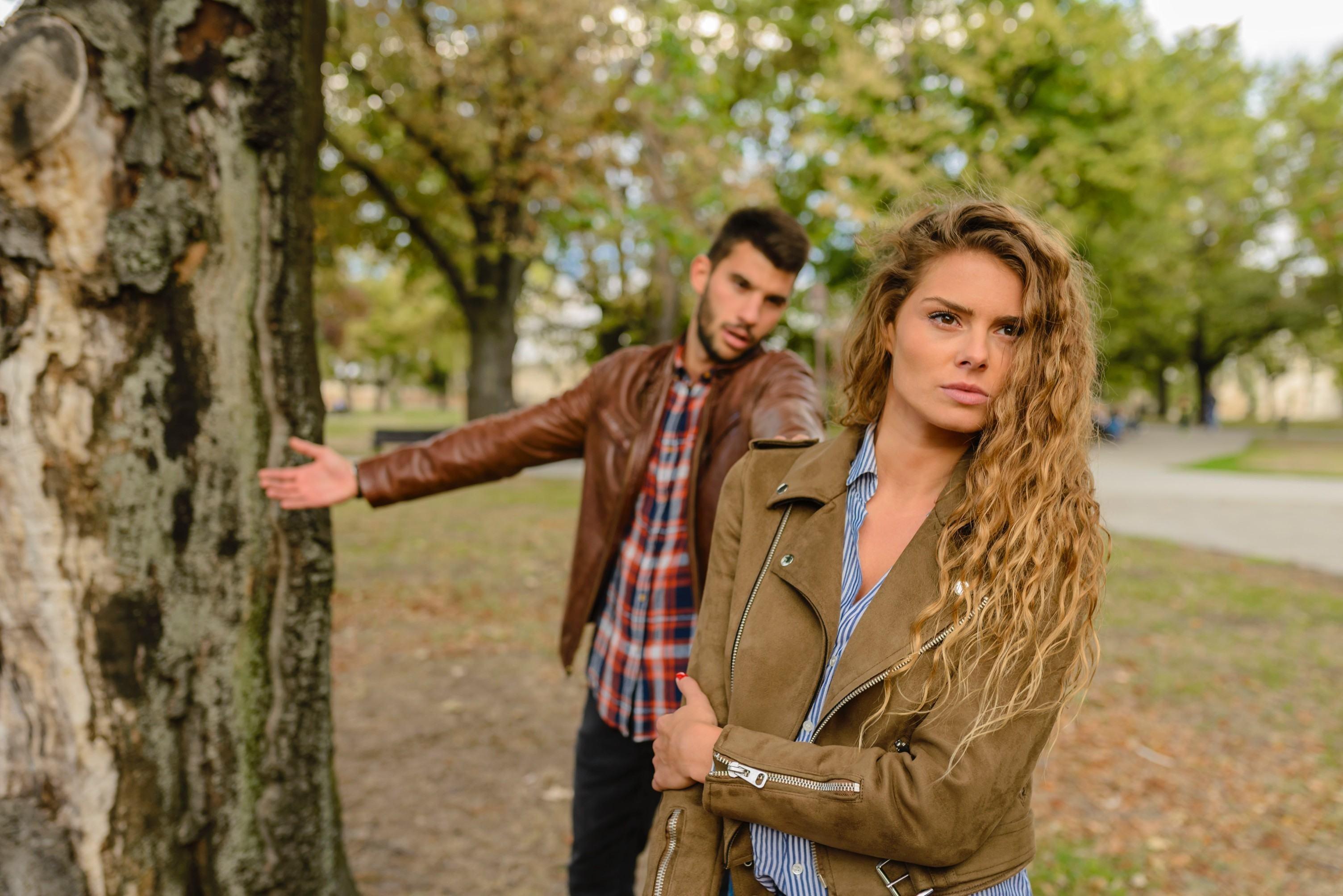 man en vrouw ruzie