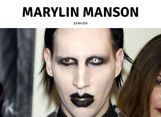 Zanger Marylin Manson