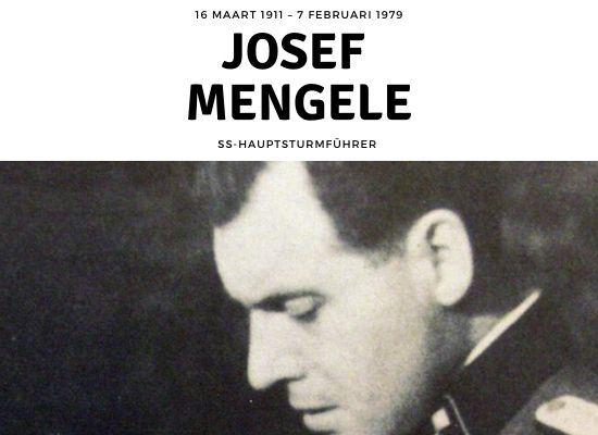 Nazi Josef Mengele