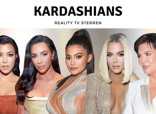 reality tv sterren Kardashians