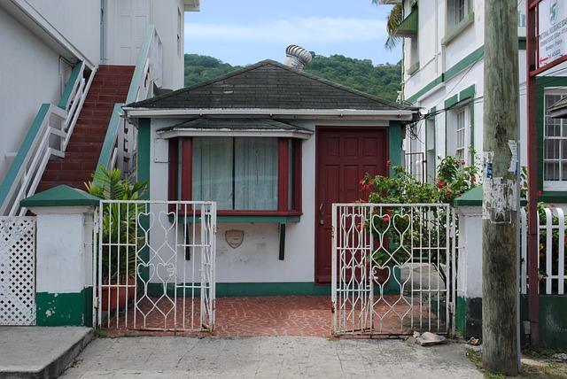 Minimalistisch, klein, wit huisje