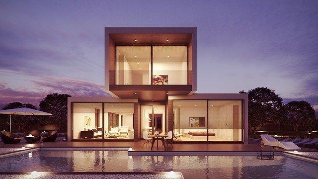 Minimalistisch blokvorming maar modern huis