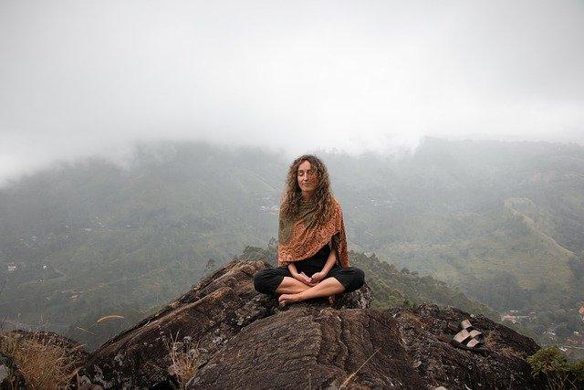 Meditatie in de natuur