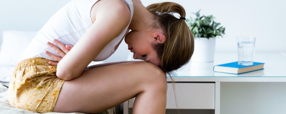 Buikpijn door overspannen zijn