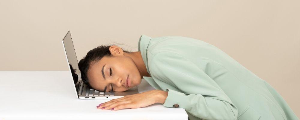 Geen energie door overspannenheid