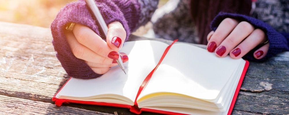 Dagboek bijhouden voor destructief gedrag
