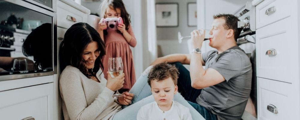 Ook samen zijn met je gezin of familie kan relaxend zijn