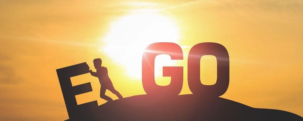 Ego omlaag brengen