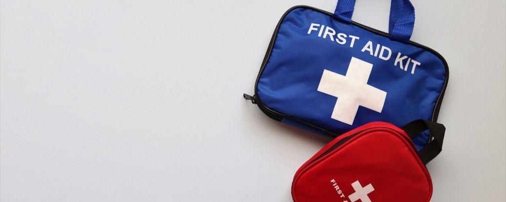 EHBO tas voor noodgevallen